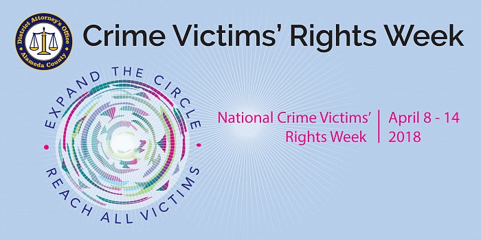National Crime Victims' Right Week, April 89-14, 2018